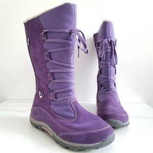 Merrell Jungle Moc Purple Waterproof Winter Boots